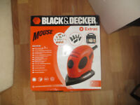 Black and Decker Mouse and extras, Model Number KA161K