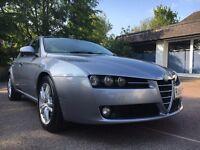 2009 ALFA ROMEO 159 LUSSO 16V JTDM 150 BHP DIESEL FACELIFT TOP LUSSO SPEC