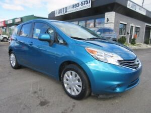 2014 Nissan Versa Note SV (Automatic CVT, Electric windows, A/C)