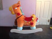 Mamas and Papas Interactive Wabble to Wake Rocking Horse