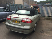 Saab 93 Covertible - Needs New Engine - Offers over £650