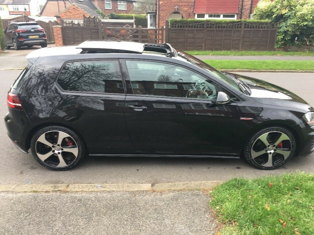 Vw golf gti mk7 2.0 turbo 2013 pan roof dyno audio remapped full Vw service history