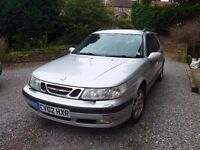 SAAB 95 Estate 2.0t - 02 Reg 2002 - Silver - Good runner - MOT