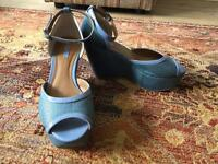 2 pairs of Next size 6 wedges