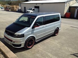 Volkswagen Caravelle, 174 BHP model. Eye Catching lots of work lovingly carried out.