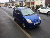Cheap ideal 1st car Chevloet Matiz 57 reg low insurance group ,low miles ,px welocme