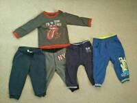 Baby boy bundles 12-18 months