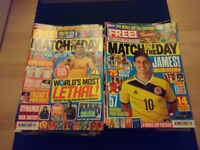 175 Match of the Day Magazines & 6 MOTD Annuals