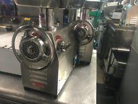 CATERING COMMERCIAL KITCHEN NEW MEAT MINCER GRINDER MACHINE FAST FOOD KEBAB RESTAURANT BUTCHER SHOP