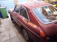 MG BGT 1.8 for spares or repair