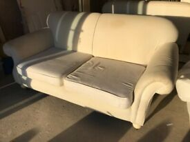Very comfy sofas x2 - FREE to collect from Haywards Heath
