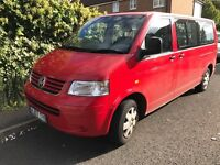 VW caravelle transporter shuttle automatic T5 2007 wheelchair access p-ex welcome AA/rac welcome