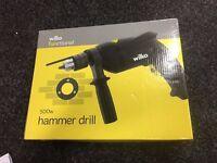 Wilko Functional Hammer Drill 500W