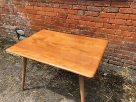 Ercol Breakfast Table with Magazine Rack