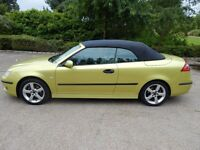 SAAB 93 Vector Convertible, 12 months MOT with only two owners from new...