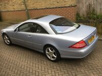 Mercedes Benz CL CLASS CL 5.0 CL500 Coupe 2dr 2004 Reg Only 60k Miles Full Service History
