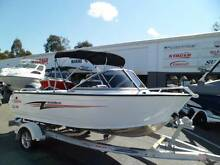 STACER 449 BAY MASTER RUNABOUT + YAMAHA 60HP 4-STROKE Boondall Brisbane North East Preview
