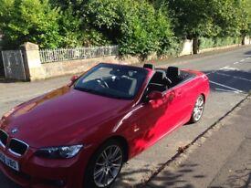 BMW 320 m sport convertible excellent condition, low mileage