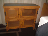 brand new 3ft 2 tier rabbit /guinea pig hutch in harvest gold