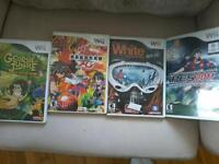 4 jeux wii 5$ chacun