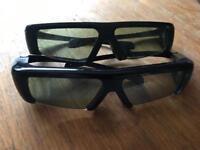 Samsung active shutter 3D glasses