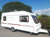 Elddis Avante 5 Berth Caravan With Optional Fixed Bed - Starter Pack Included
