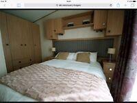 Luxury static caravan Abi Sanctuary 2013, 6 birth, 12 months season at Ocean Edge holiday park.