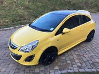 Vauxhall Corsa 2012 1.2L 3dr Limited Edition Yellow (a/c)