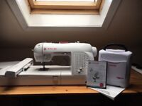 Selling Singer XL420 Embrodiery machine used once for half a hour extras with it