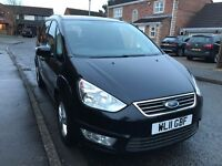 2011 FORD GALAXY ZETEC 2.0 TDCI BLACK 7 seater full service history and mot
