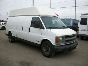 1999 Chevrolet Express HIGH ROOF CARGO VAN