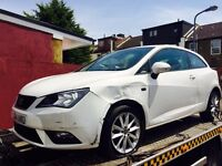 2014 Seat Ibiza 1.4 Toca Sport Salvage Damaged Repairable a1 polo fabia polo
