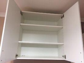 Ikea white wall cabinet