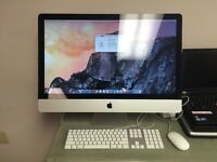 iMac 27 inch 3.6ghz i5 8gb DDR3 ram 1TB hard drive - Great Condition