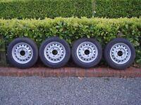 4 brand new ifor williams trailer tyres 175/75 R16 8PR maxmiler CX