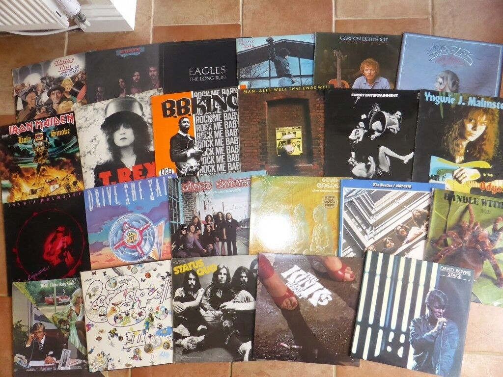 Rock Record Collection 1st Pressings Etc In Solihull