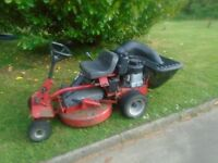 Snapper Ride on Lawnmower Mower 10HP 28 inch cutting deck electric start and pull for backup