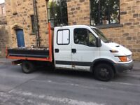 Iveco tipper cre cab 2005 54 reg mot till nov taxed tipper works good drives spot on ready for work