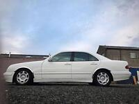 White : Mercedes Benz e200 Kompressor AUTO Full Leather only 40k Miles!