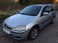 Vauxhall corsa c 1.2 sxi petrol 2004 13 month M.O.T