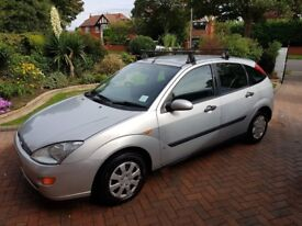 Y Reg Ford Focus, MOT until March 2019! £385 ONO! Very reliable, great condition.