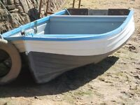a fishing boat / dinghy