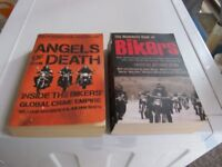HELLS ANGELS OF DEATH & MAMMOTH BOOK OF BIKERS