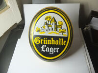 Grunhalle Larger - Illuminated Bar Sign 1970? - Vintage