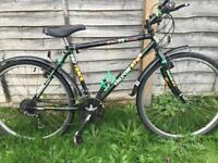 """Falcon hybrid bike. 20"""" frame. Road tyres. Fully working"""