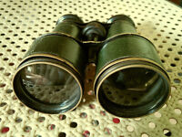 Last price ! Vintage binocular , probably from beginning of last century and free 7x50 binocular