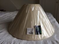 Natural/cream plain lampshade