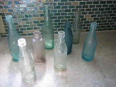Glass Chicago Success Brewery Bottle WHH Vintage Antique Beer Bottles 1900