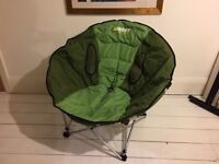 Urban Escape Super-Size Bucket Camping Chair - Excellent As New Condition.