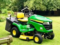 "John Deere X305R Ride On Mower - 42"" Deck - Lawnmower - countax/Kubota/Stiga"